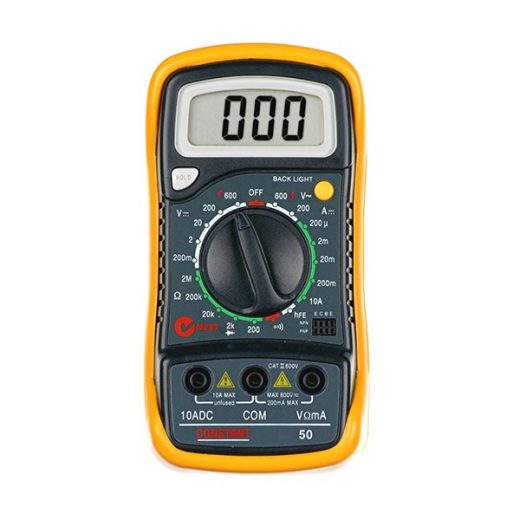 50 DIGITAL MULTIMETER