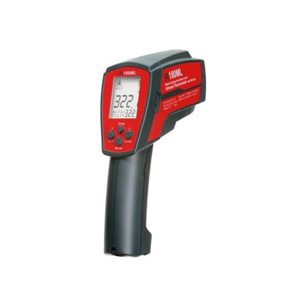 IR180ML DUAL LASER INFRARED THERMOMETER WITH MEMORY